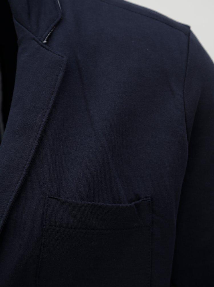 Tmavě modré mikinové sako Dstrezzed