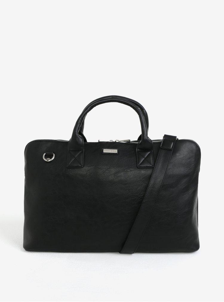 Černá taška přes rameno Bobby Black