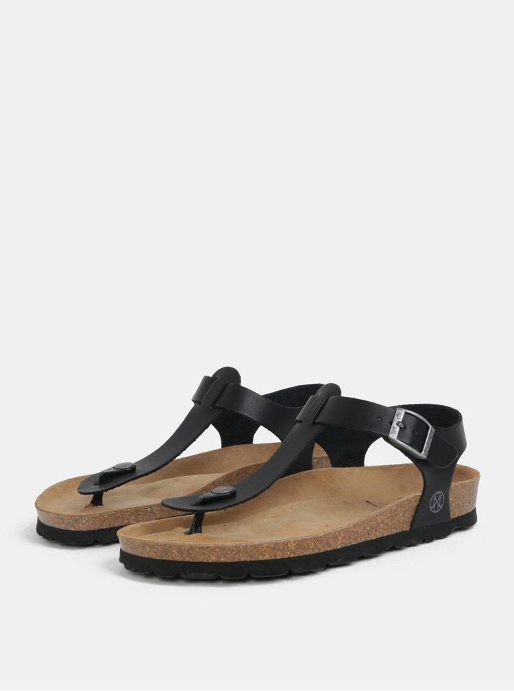 Čierne sandále OJJU