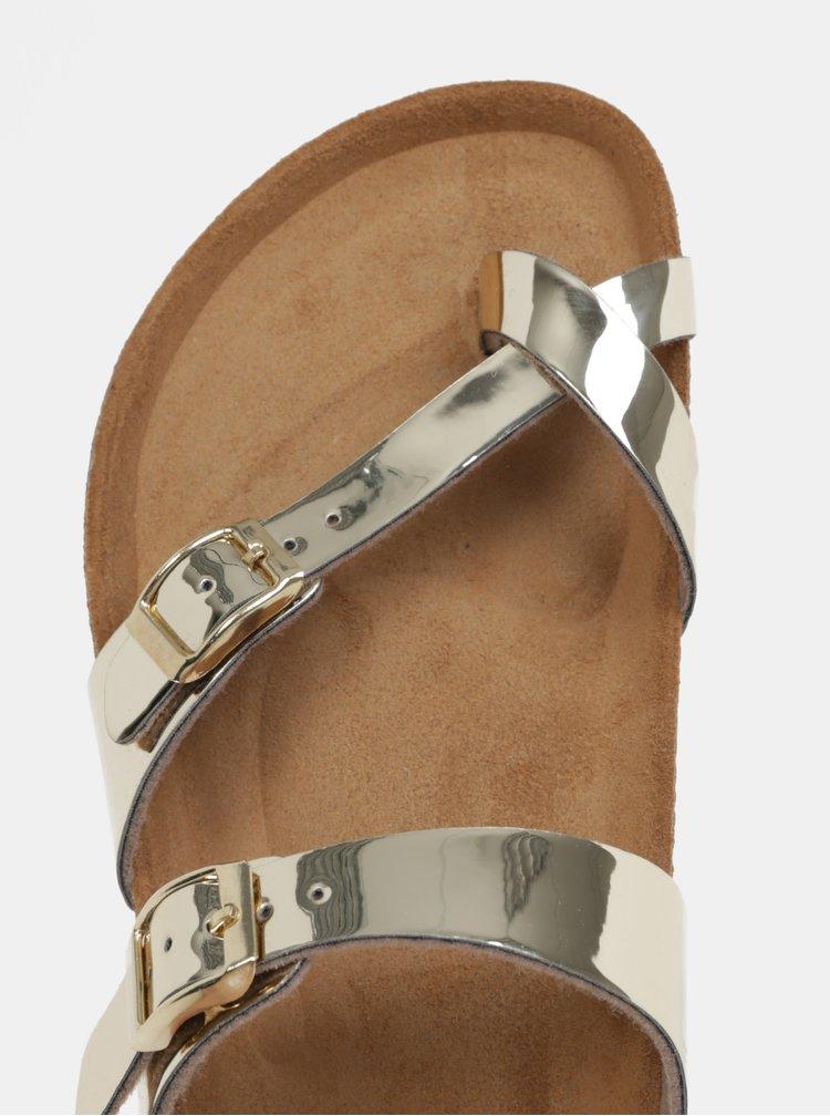 Pantofle ve zlaté barvě OJJU