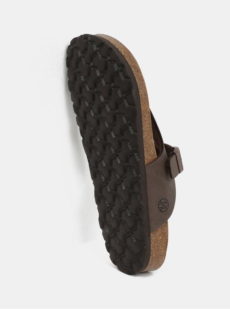 Hnědé pantofle OJJU