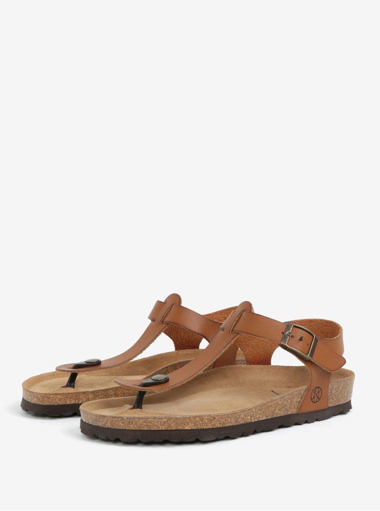 Hnědé sandály OJJU