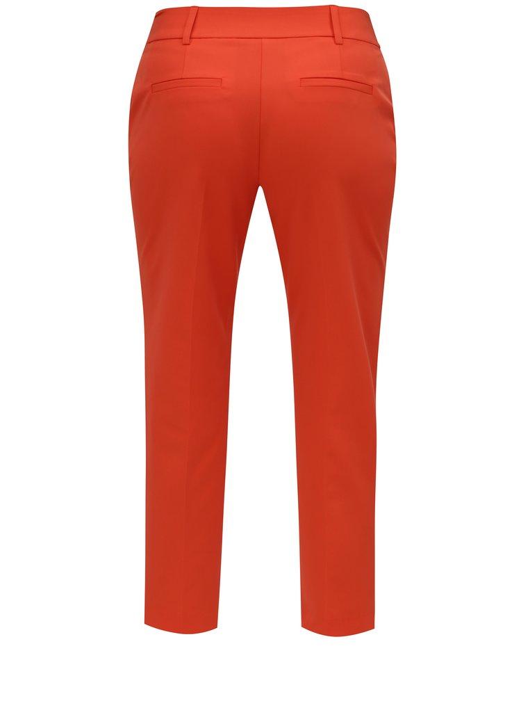 Červené zkrácené kalhoty Dorothy Perkins