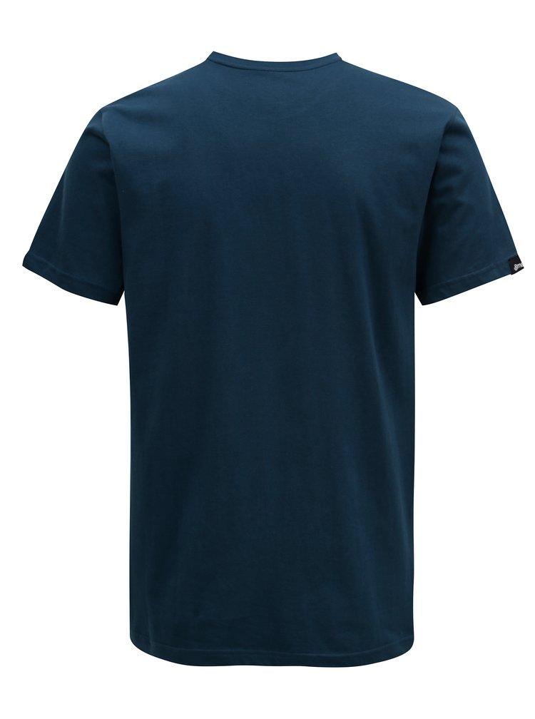 Tmavě modré pánské tričko MEATFLY Shaper