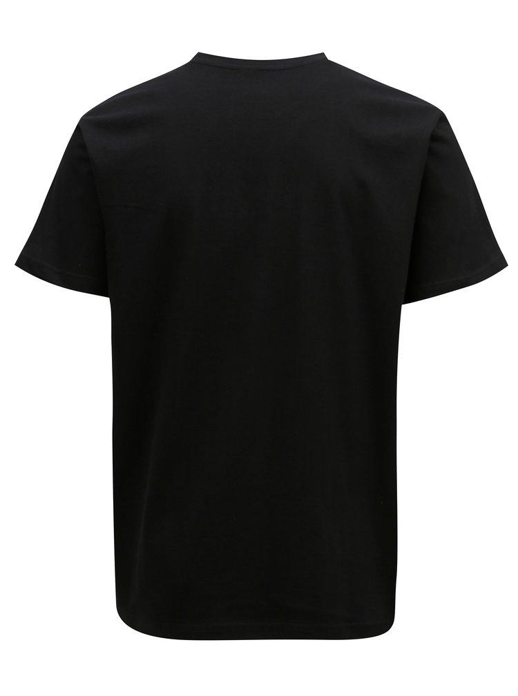 Černé pánské tričko MEATFLY Domino