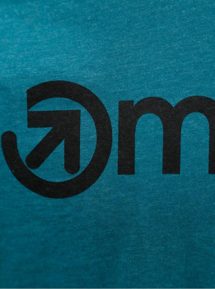 Petrolejové pánské tričko MEATFLY Logo