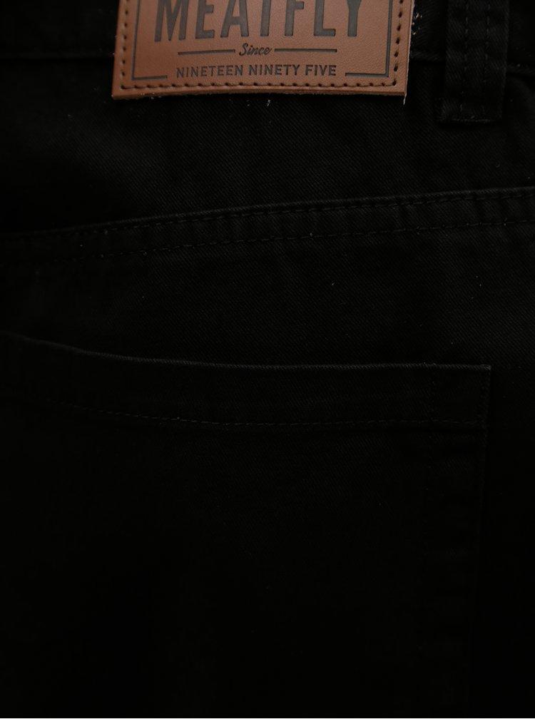 Černé pánské kraťasy MEATFLY Bobber