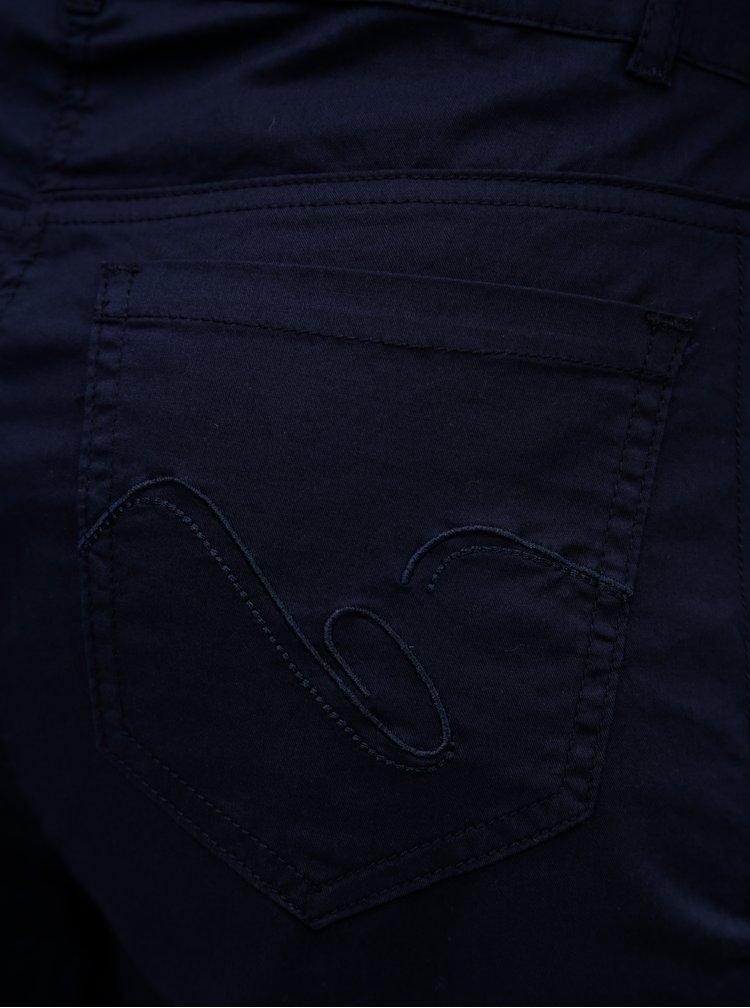 Tmavě modré 3/4 kalhoty Yest
