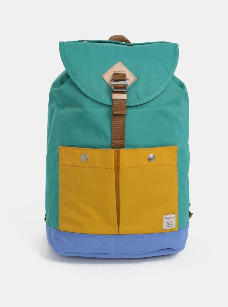 Žluto-zelený batoh s pouzdrem 2v1 Doughnut Montana