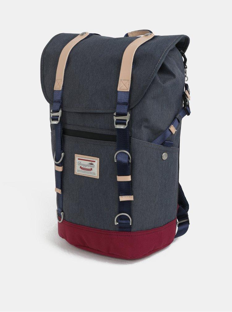 Modro-šedý batoh Doughnut Denver