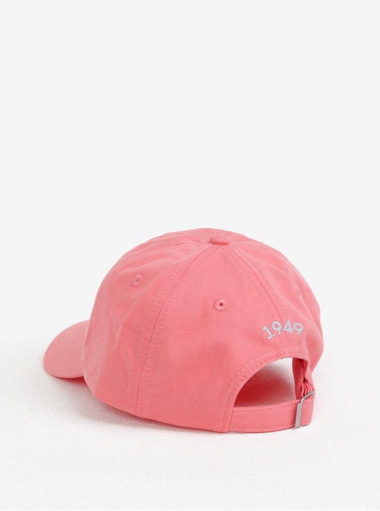 Růžová dámská kšiltovka GANT