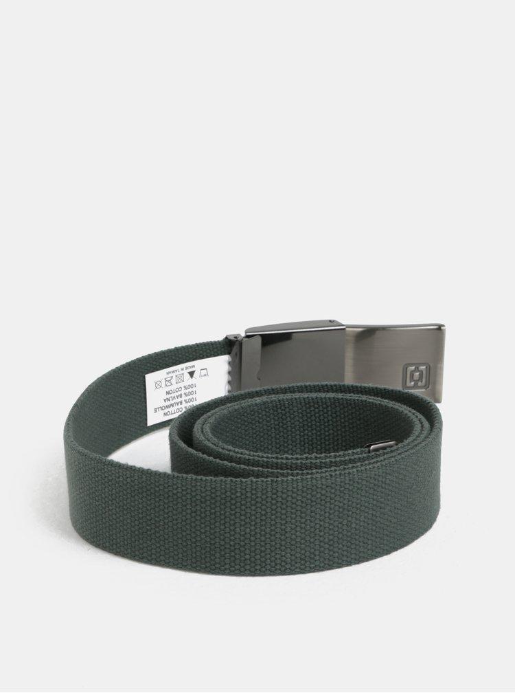 Šedo-zelený pánský pásek Horsefeathers Chad