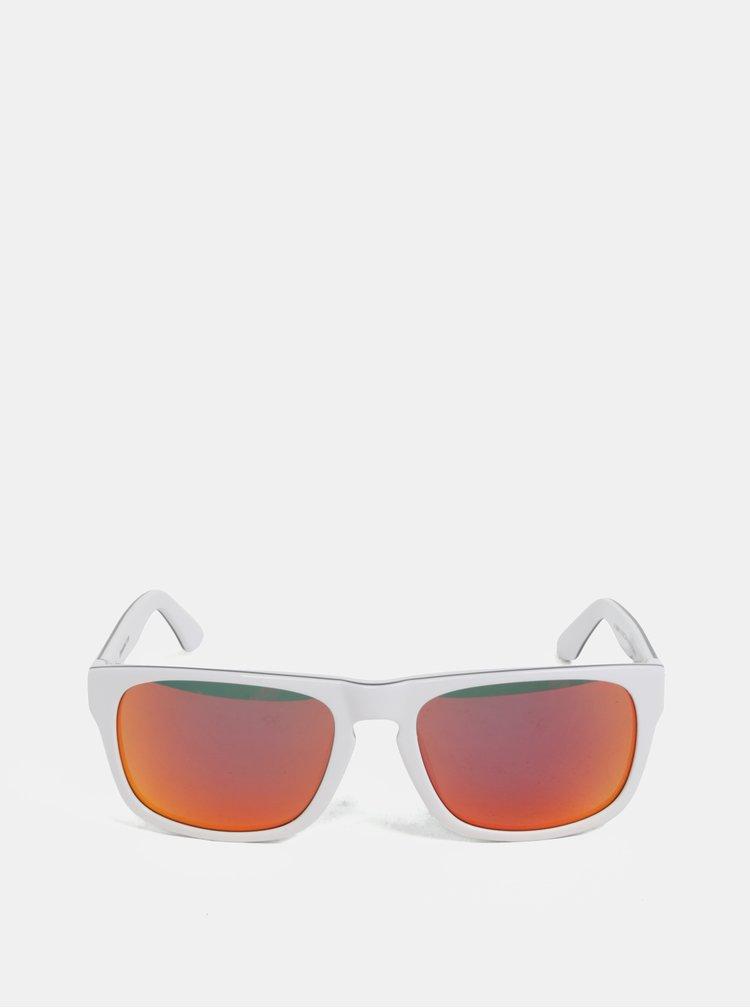 Červeno-bílé pánské sluneční brýle Horsefeathers Keaton