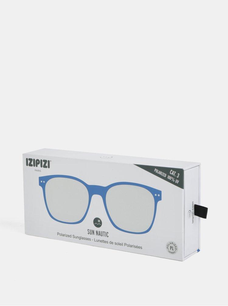 Modré slnečné polarizačné okuliare IZIPIZI Nautic