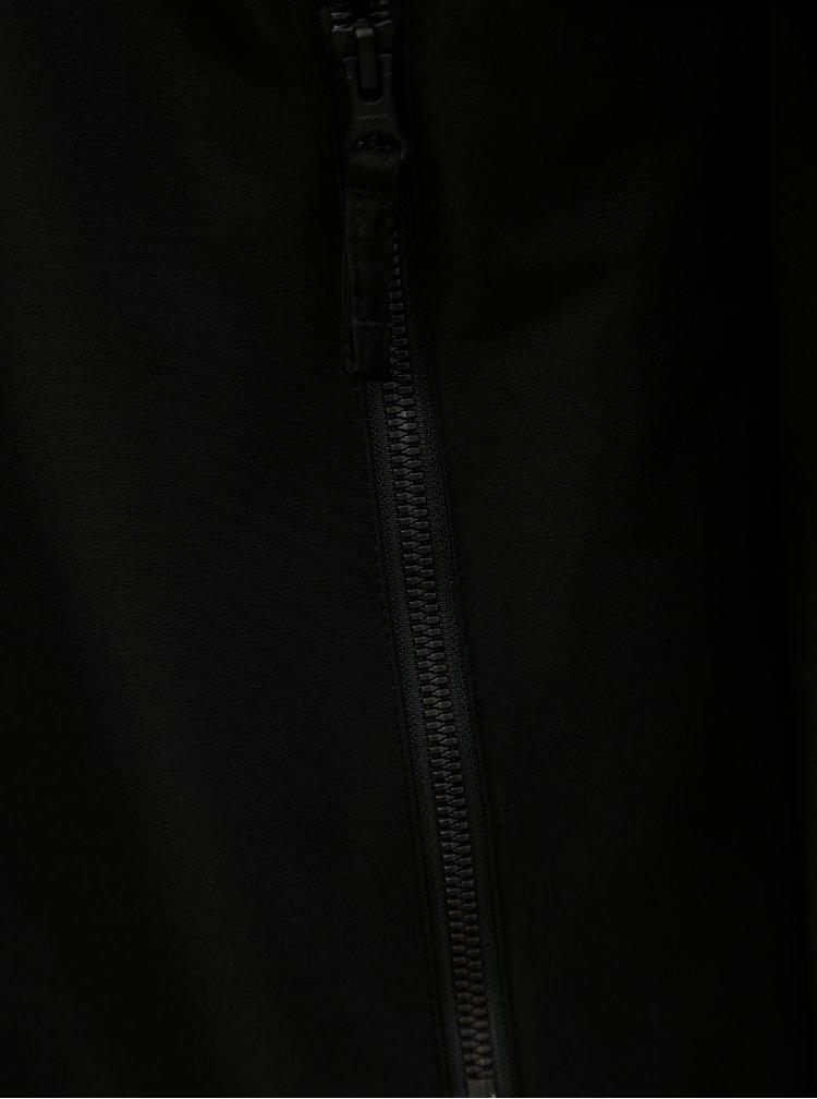 Černá pánská voděodolná bunda Horsefeathers Basil
