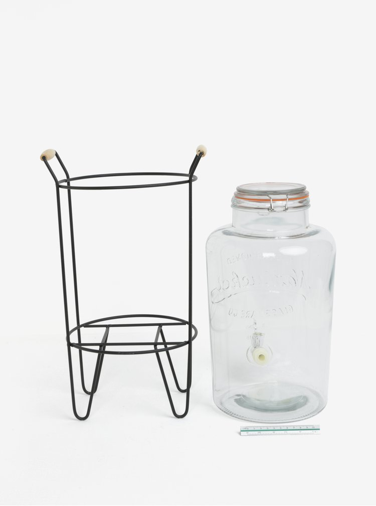 Carafa de sticla cu suport SIFCON