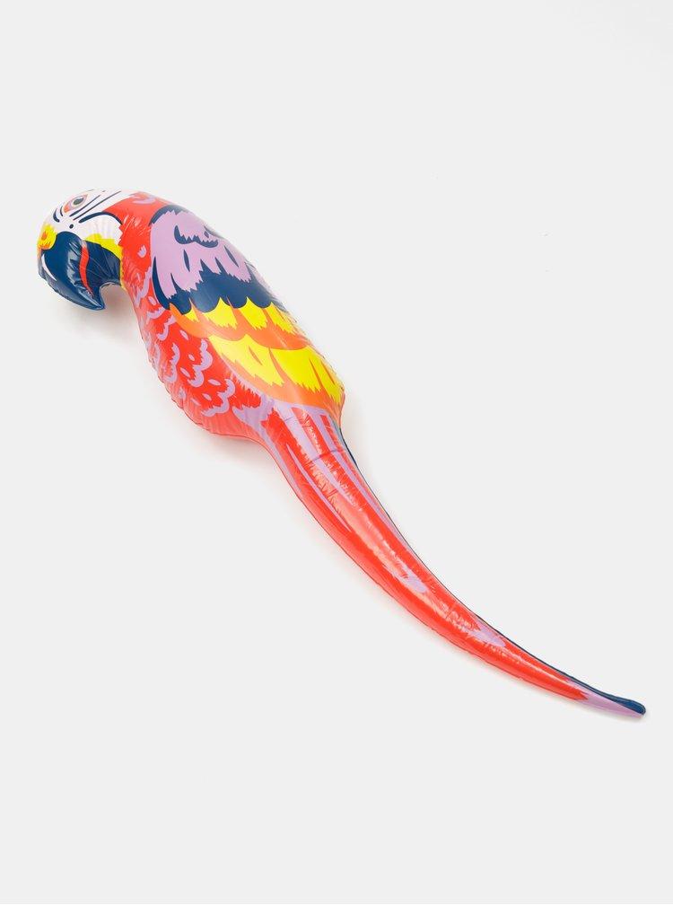 Červený nafukovací papoušek SIFCON