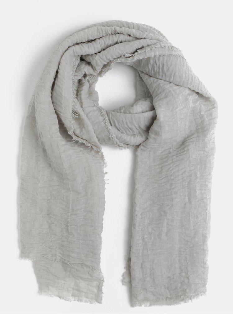 Světle šedý šátek Pieces Dartoline