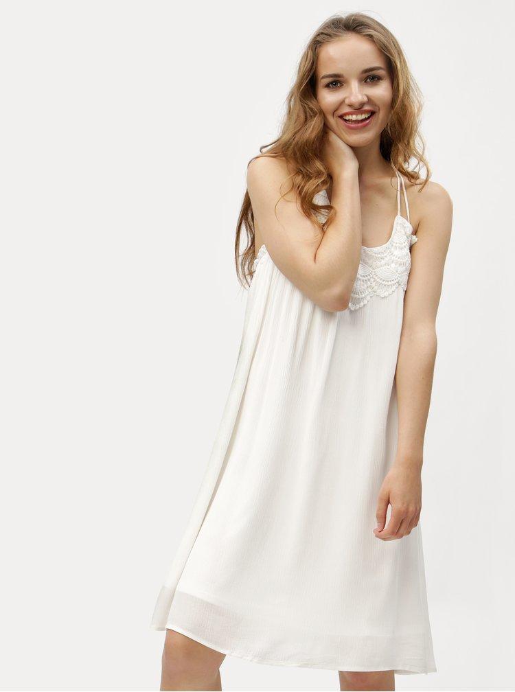 Bílé šaty VERO MODA Fiona
