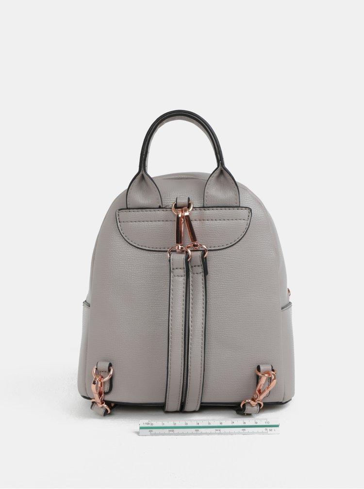 Šedý batoh s mašlí Gionni Avril