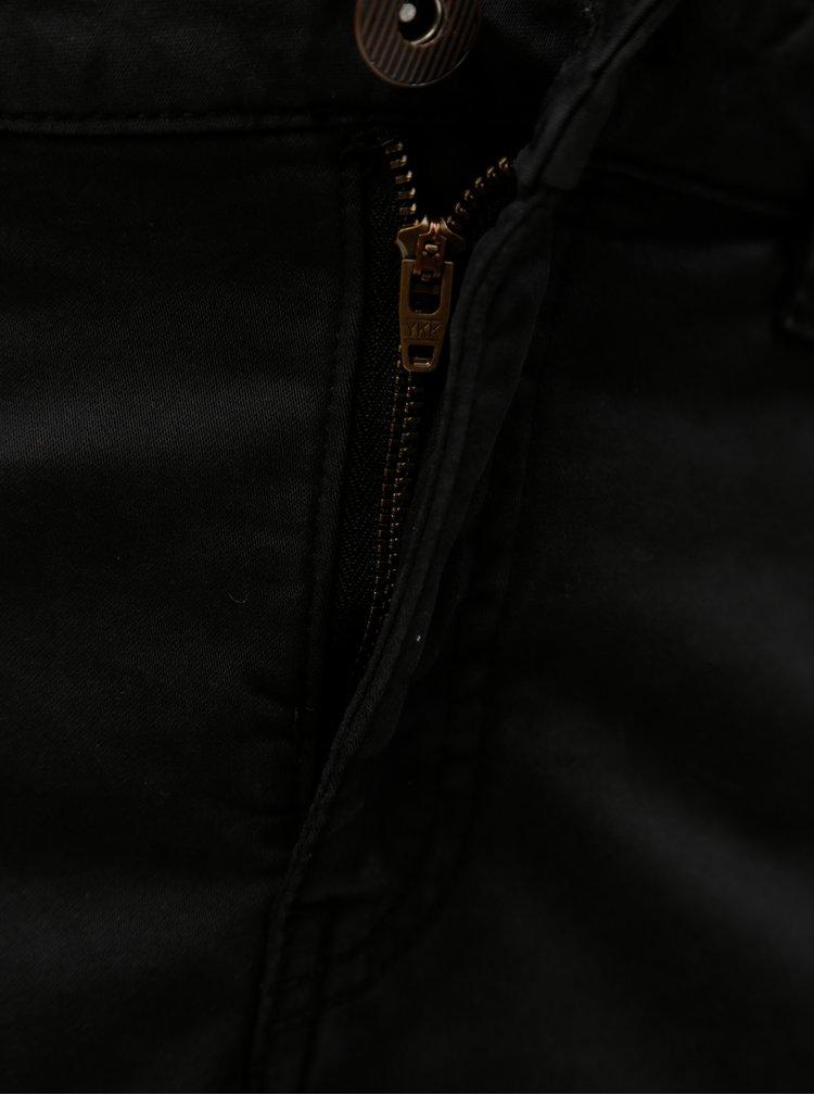 Černé kraťasy s kapsami Zizzi