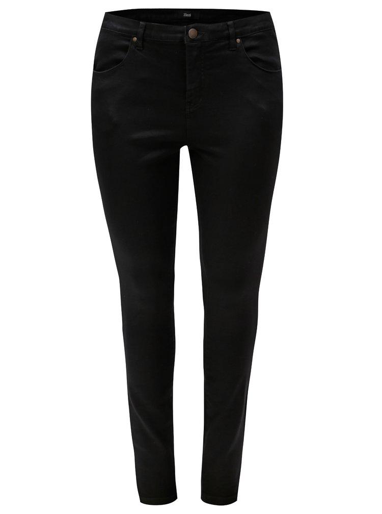 Černé super slim džíny Zizzi