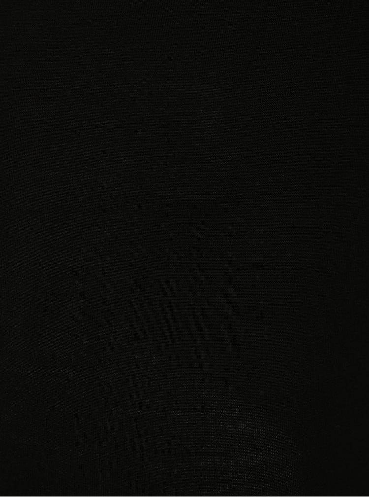 Černé 3/4 legíny simply be.