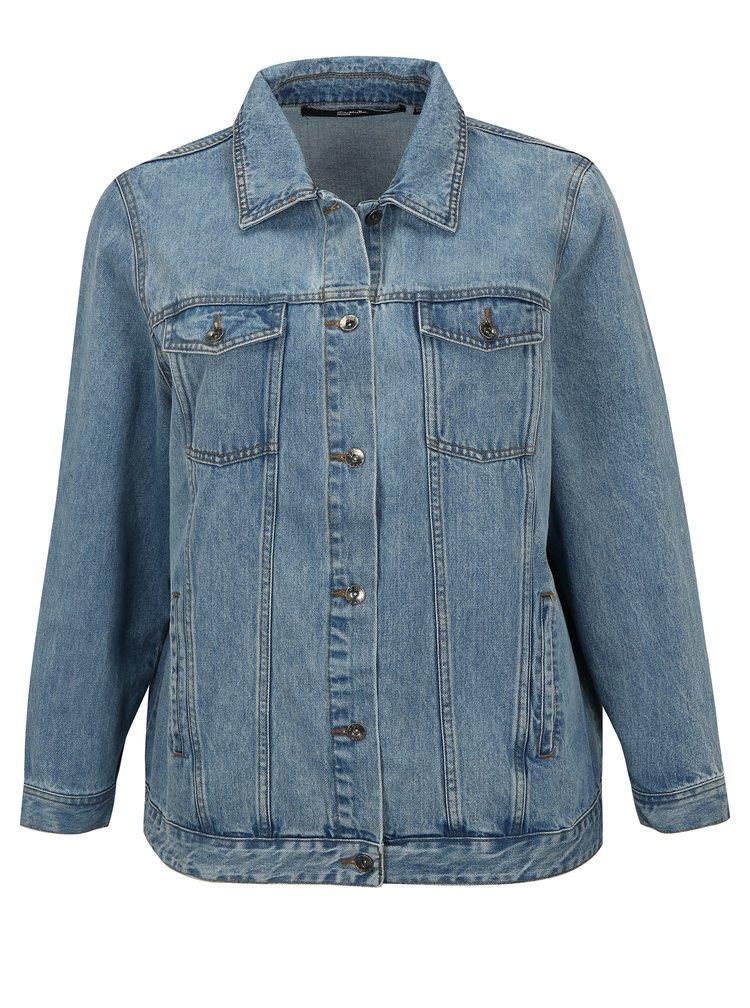 Světle modrá džínová bunda simply be.
