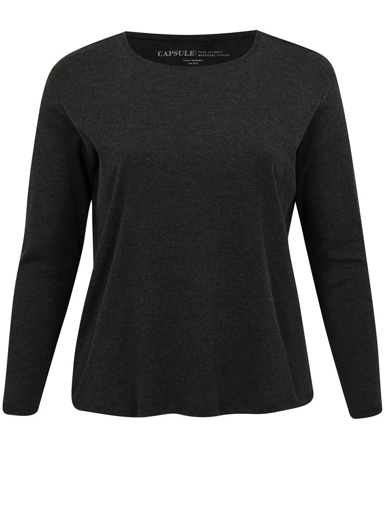 Sada tří triček v šedé a oranžové barvě simply be.