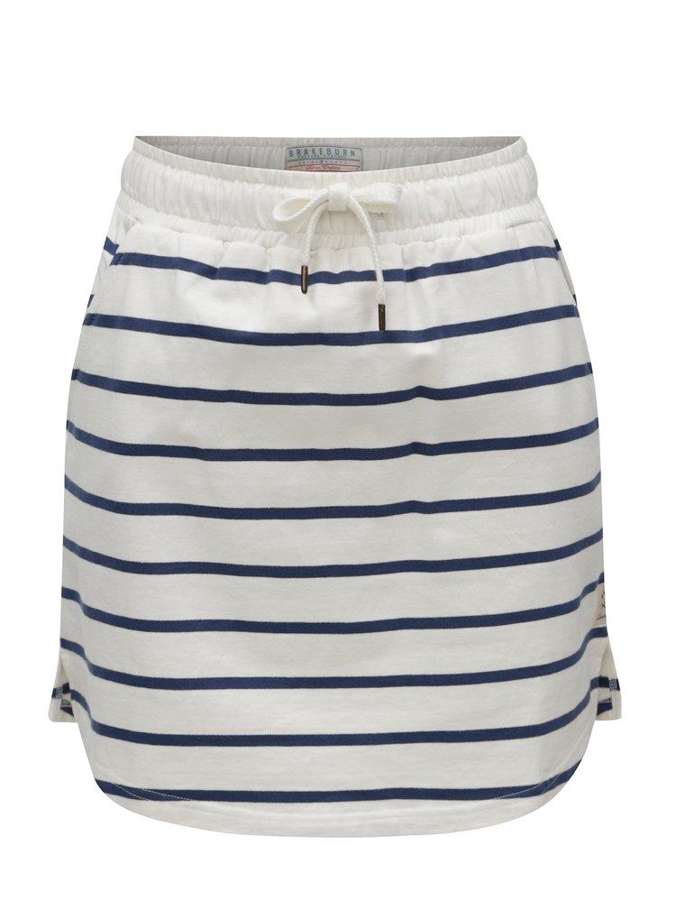 Modro-bílá pruhovaná sukně Brakeburn