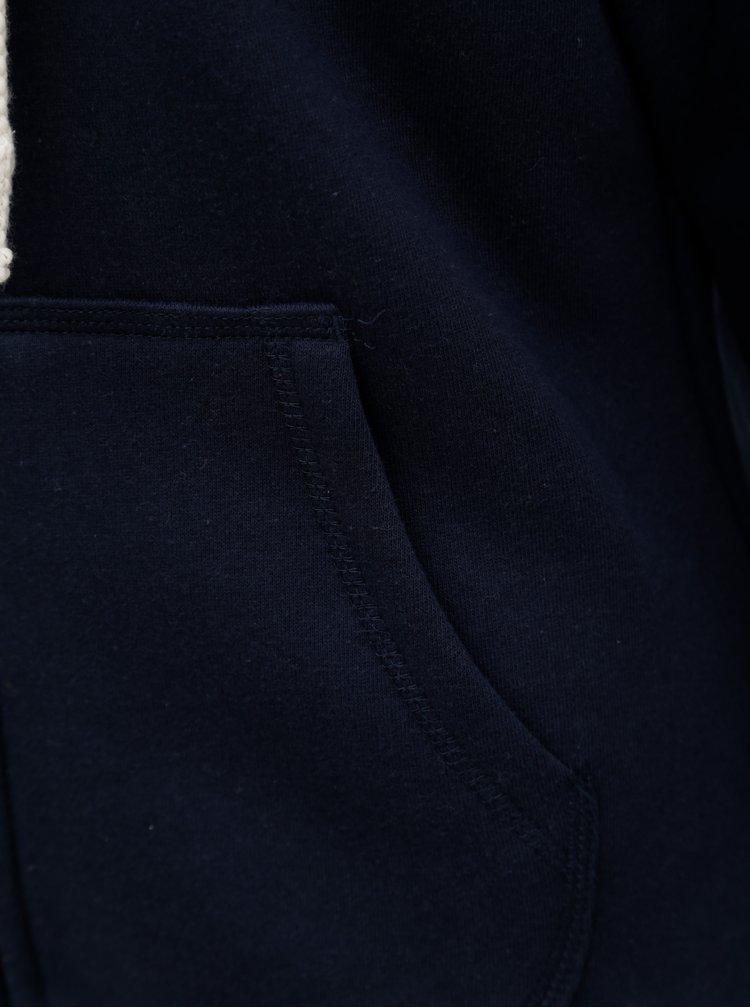Tmavě modrá mikina s výšivkou Brakeburn