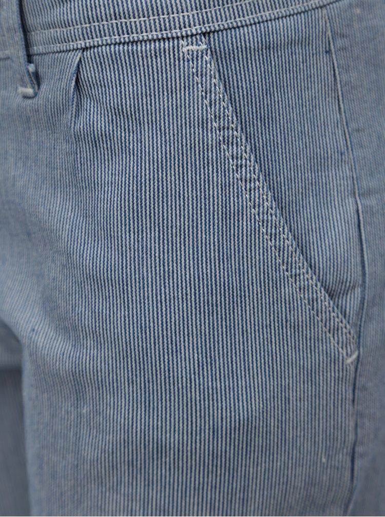Modré pruhované kraťasy Brakeburn