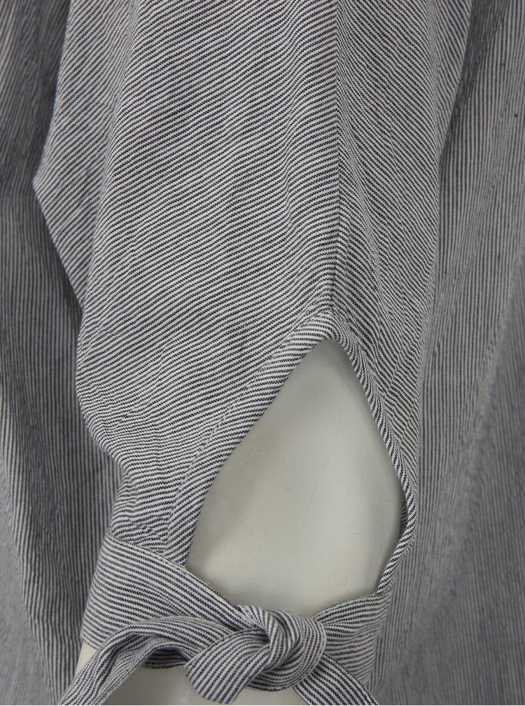 Bílo-černá pruhovaná halenka simply be.