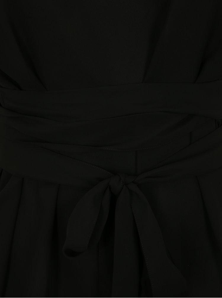 Černá halenka se zavazováním simply be.