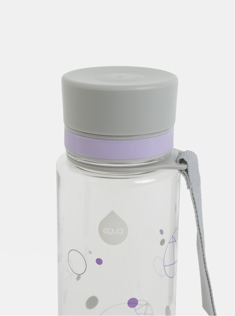 Plastová lahev s motivem kruhů EQUA (600 ml)