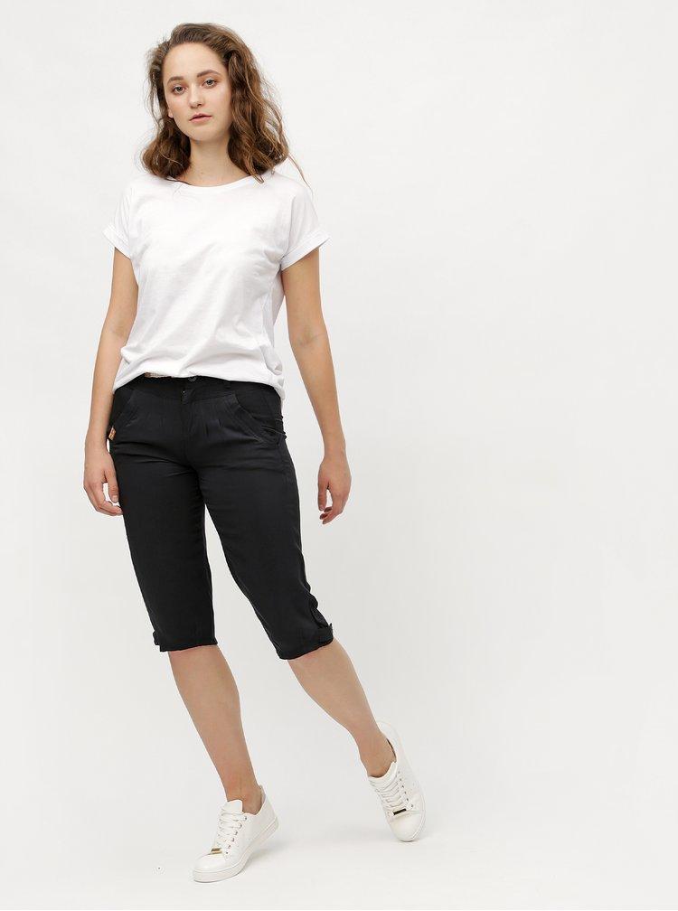 Černé dámské 3/4 kalhoty Ragwear Cripsy