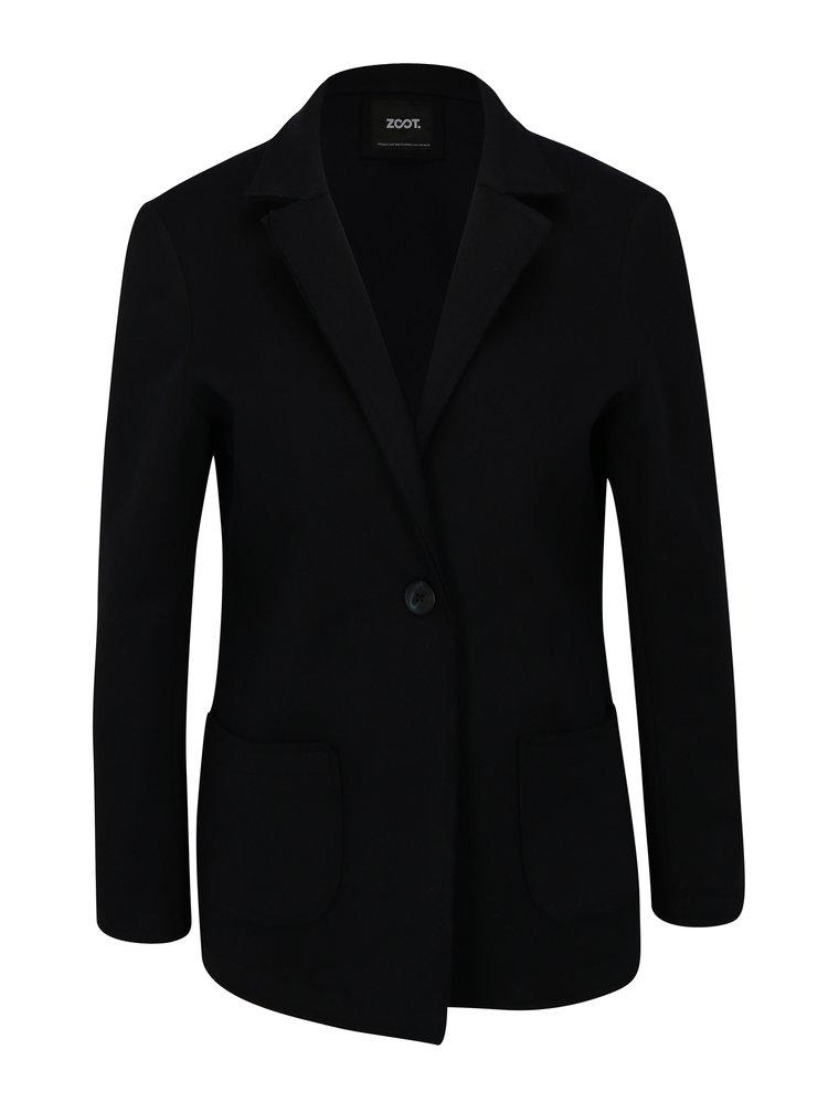 Sacou bleumarin cu model discret - ZOOT