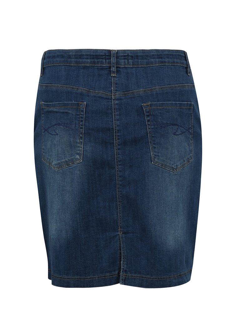 Modrá džínová sukně simply be.
