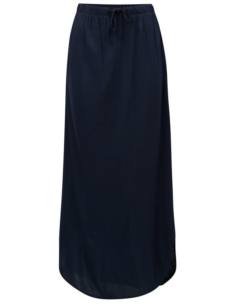 Tmavě modrá maxi sukně s kapsami Jacqueline de Yong Safety