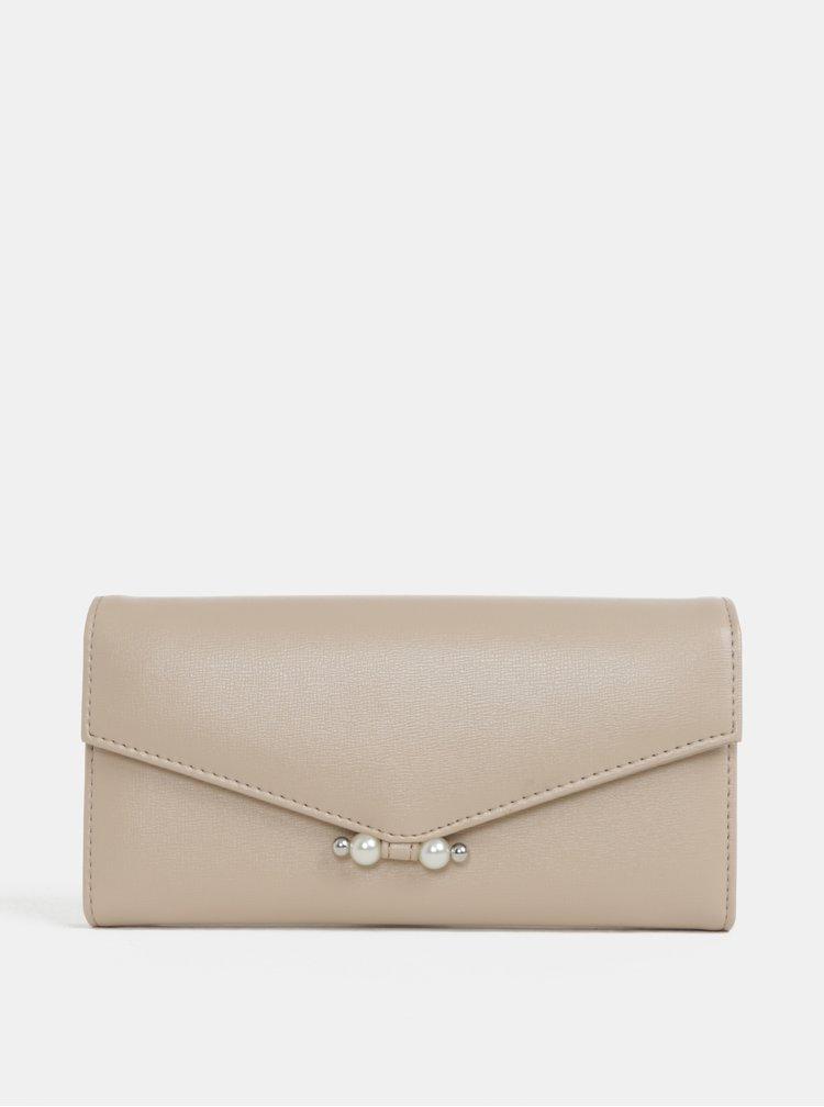 Béžová peněženka Dorothy Perkins