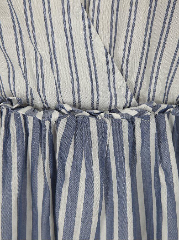 Bílo-modrá pruhovaná halenka ONLY Sailor
