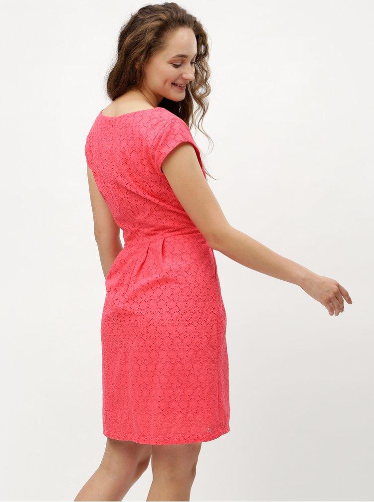 Rochie roz cu model brodat s.Oliver