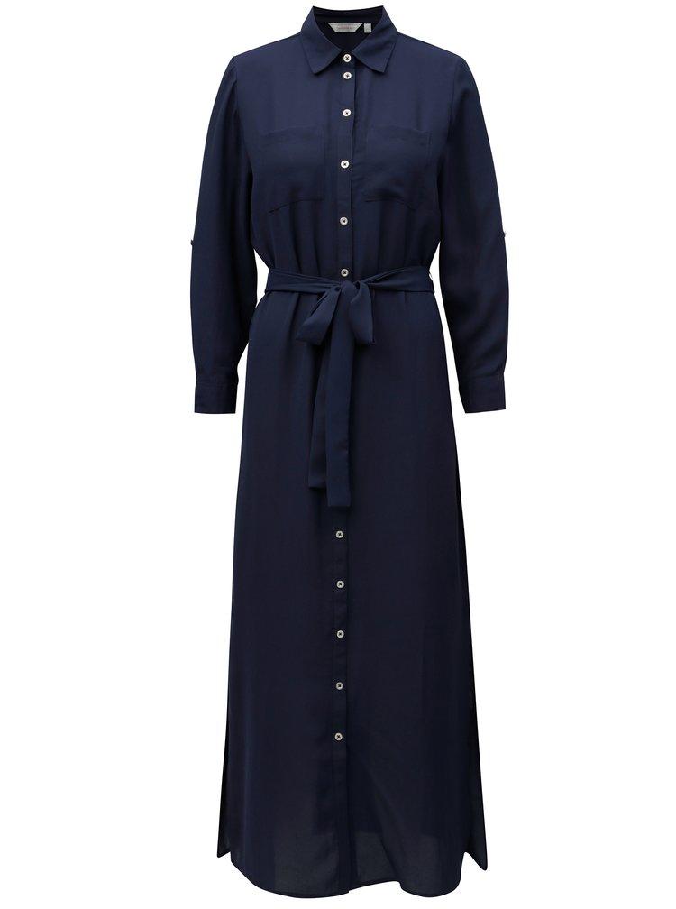 Rochie maxi tunica albastru inchis Dorothy Perkins Petite
