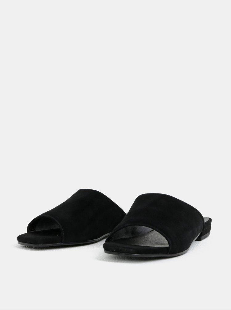 Černé dámské semišové pantofle Vagabond Becky