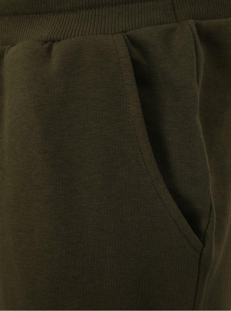 Khaki teplákové kraťasy ONLY & SONS Christian