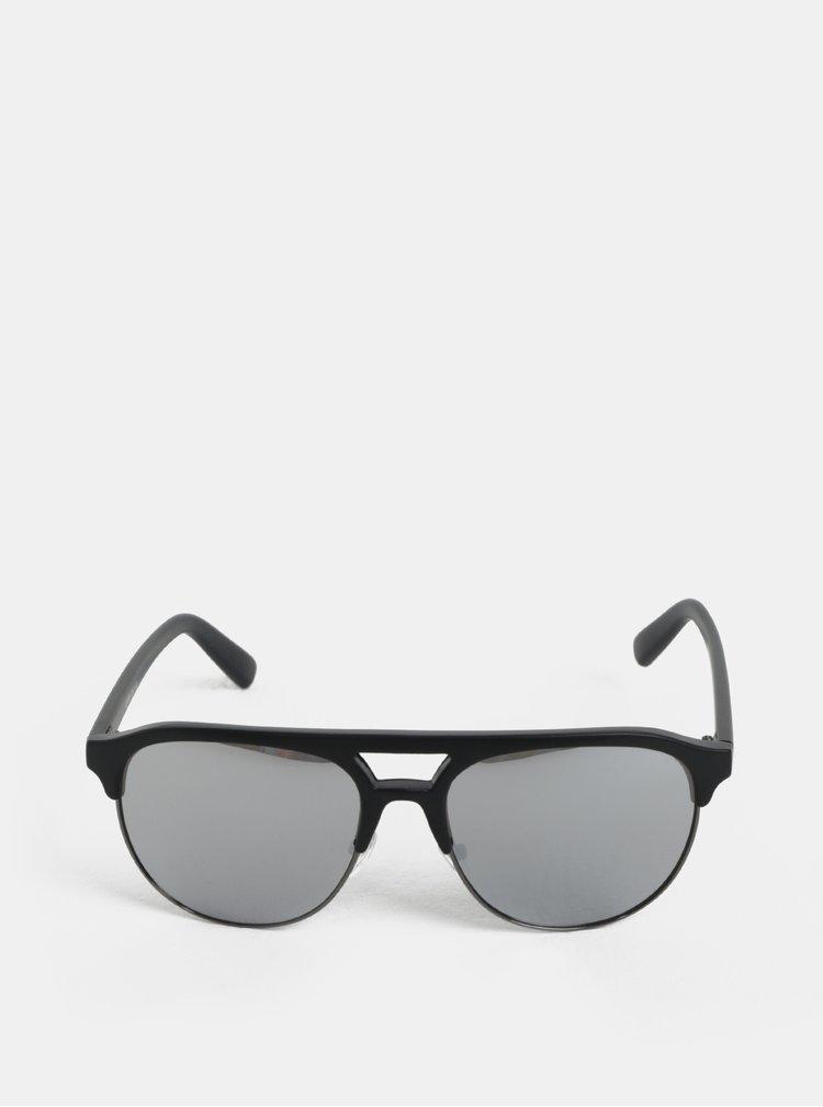 Černé sluneční brýle se zrcadlovými skly ONLY & SONS Display