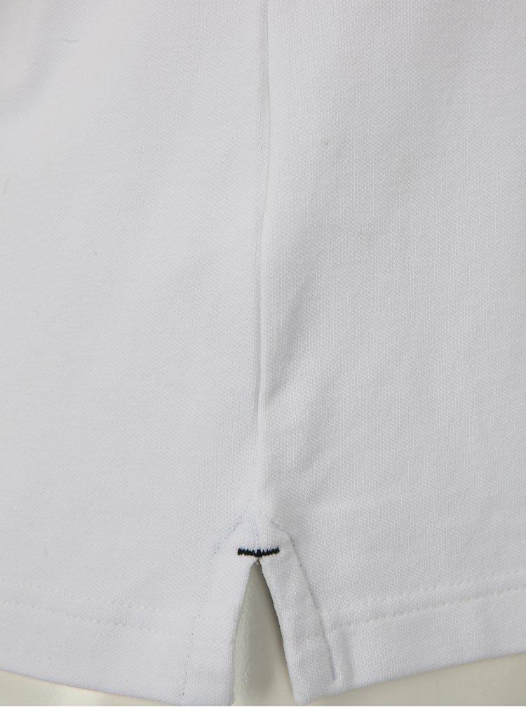 Bílé pánské slim fit polo tričko s.Oliver