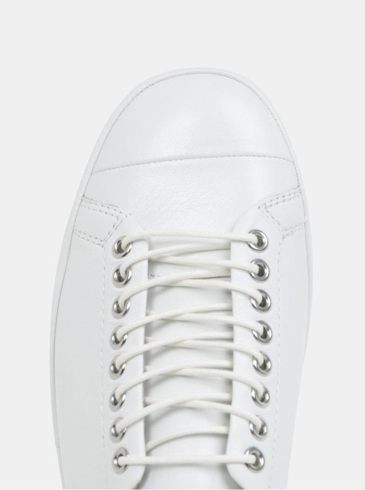 Bílé dámské kožené tenisky Vagabond Rose