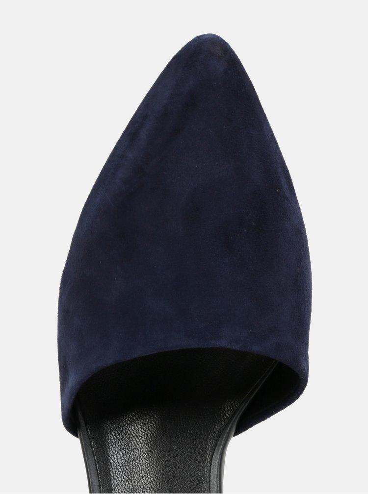 Tmavě modré dámské semišové sandálky Vagabond Mya