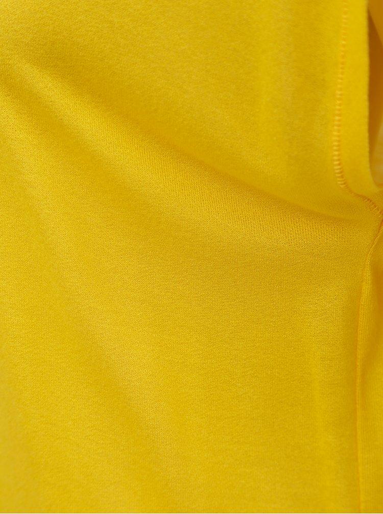 Žluté basic tričko Noisy May Mila